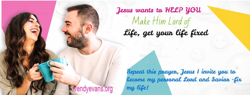 If it's hopeless, turn to Jesus!