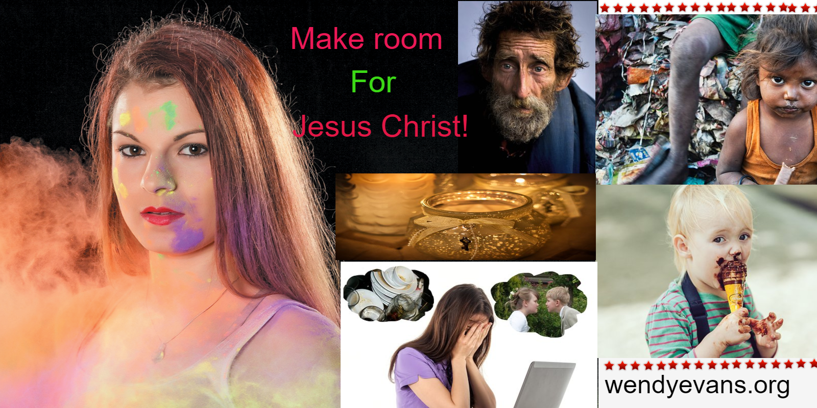 Make Room For Jesus!
